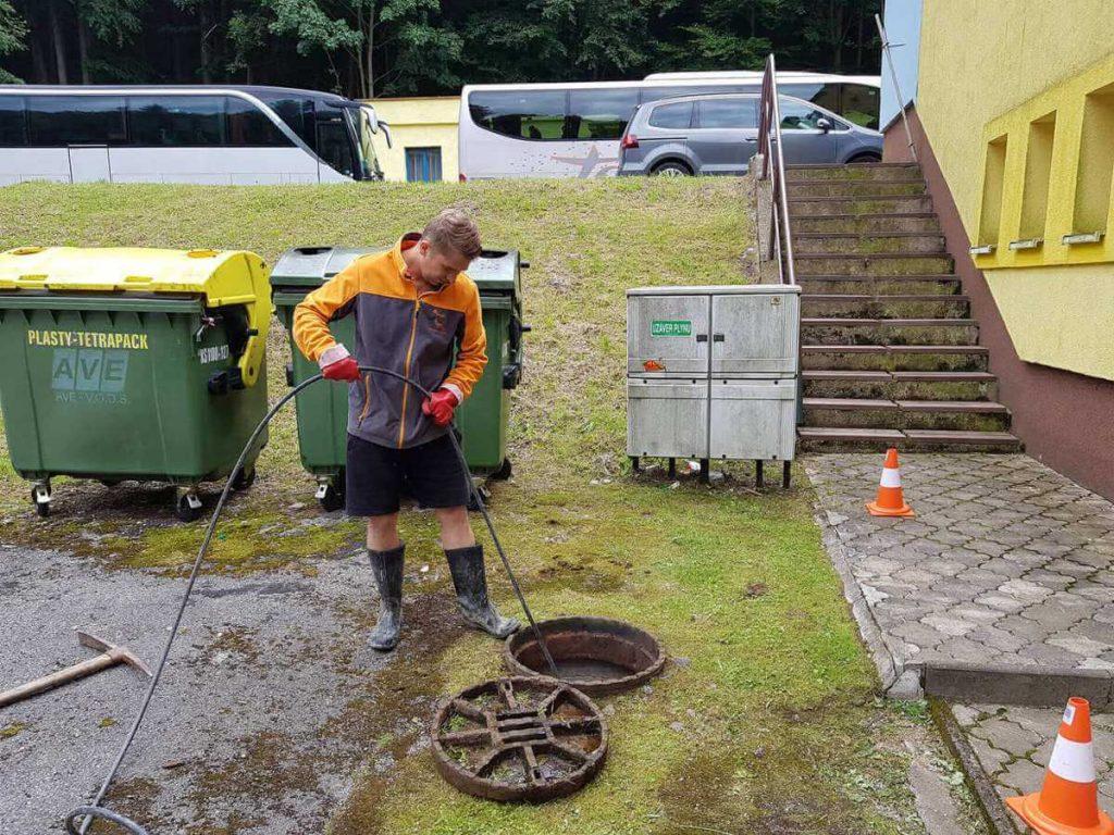 Vysokotlakové čistenie kanalizácie za dobré ceny